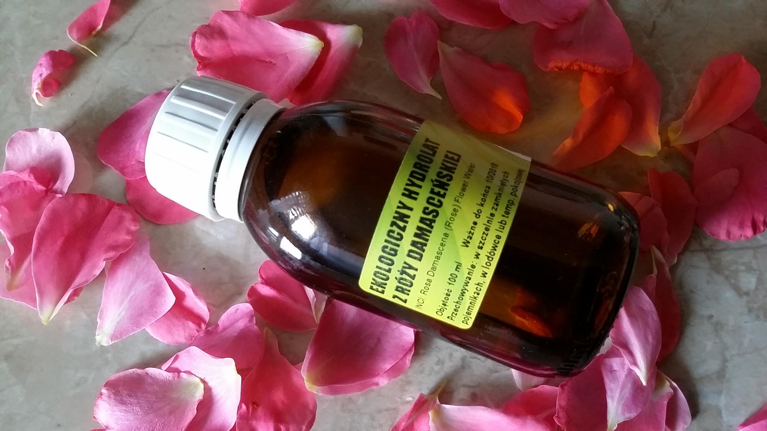 Hydrolat z róży damasceńskiej